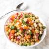 Loaded Greek Chickpea Salad