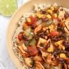 Chicken & Veggie Enchilada Bowls