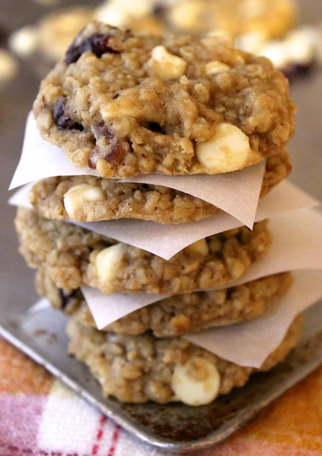 White Chocolate Cranberry Oat Jumbles {Great Harvest ...