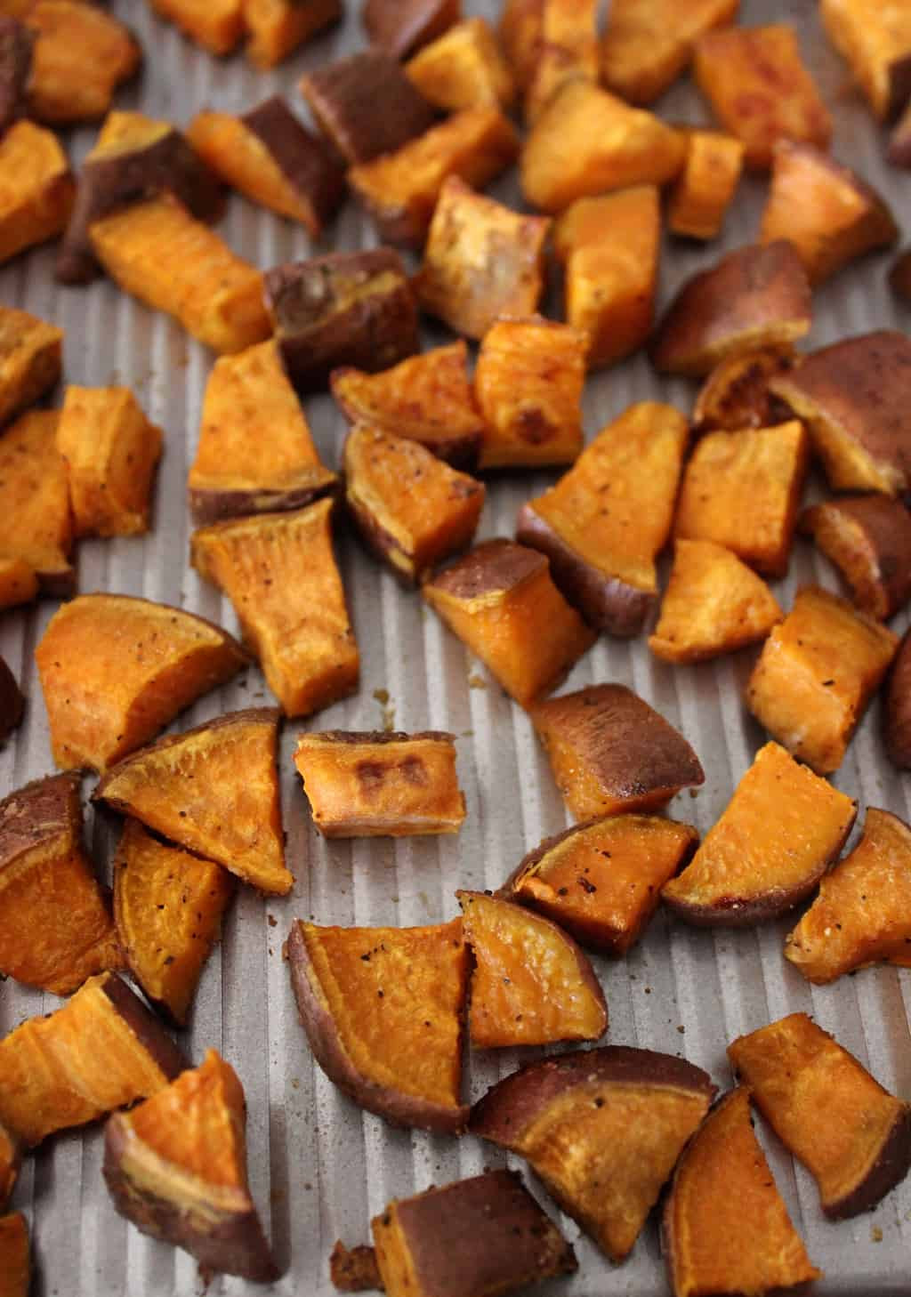 Simple Roasted Sweet Potatoes - Healthy Liv