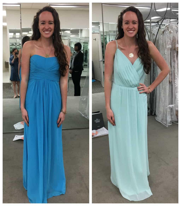 Bridesmaid dress shopping healthy liv ombrellifo Gallery