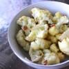 Crispy Garlic Roasted Cauliflower