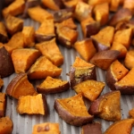 Simple Roasted Sweet Potatoes