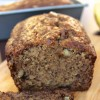 Healthier Whole Wheat Banana Nut Bread