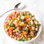 Loaded Greek Chickpea Salad