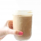 Chocolate Peanut Butter Cup Protein Smoothie