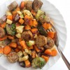 Easy One-Pan Chicken Sausage & Roasted Veggies