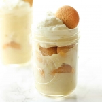 Homemade Mason Jar Banana Pudding