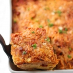 Baked Spaghetti Squash with Italian Chicken Sausage