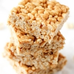 Peanut Butter & Honey Crispy Treats