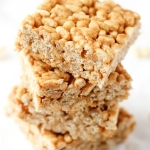 Peanut Butter & Honey Crispy Treats