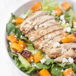Fall Harvest Butternut Squash Chicken Salad