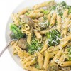 Broccoli Pesto Penne with Chicken Sausage