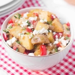 Greek Roasted Potato Salad