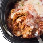 Healthy Slow-Cooker Veggie Lasagna