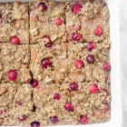Cranberry Pear Walnut Baked Oatmeal