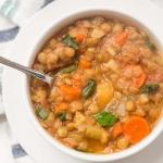 Simple, Hearty Vegan Lentil Soup