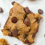 Peanut Butter Chickpea Blondies