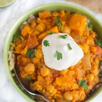 Hearty Sweet Potato Chickpea Stew
