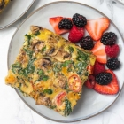 Make-Ahead Turkey Sausage Veggie Frittata
