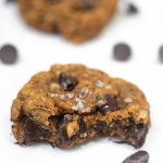 One-Bowl Healthy Chocolate Chip Peanut Butter Cookies (GF)