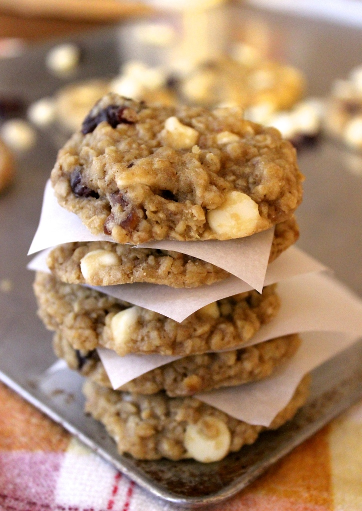 These white chocolate cranberry oat cookies are going to be on the blog tomorrow, and believe me, they're worth the splurge!