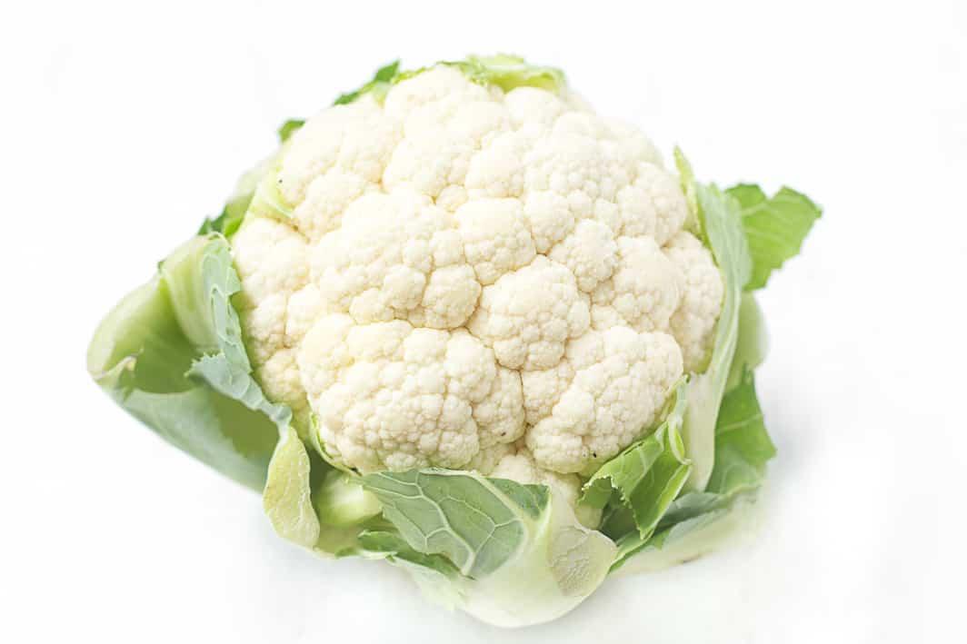 crispy garlic roasted cauliflower healthy liv