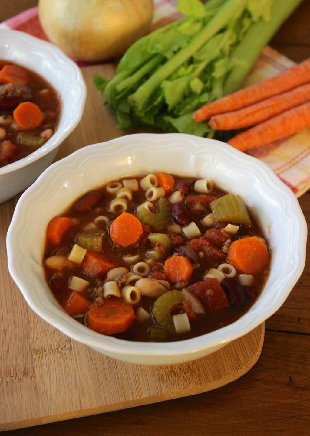Copycat Olive Garden Pasta Fagoli Soup