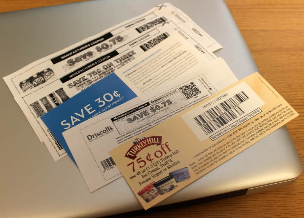 saving money with internet coupons