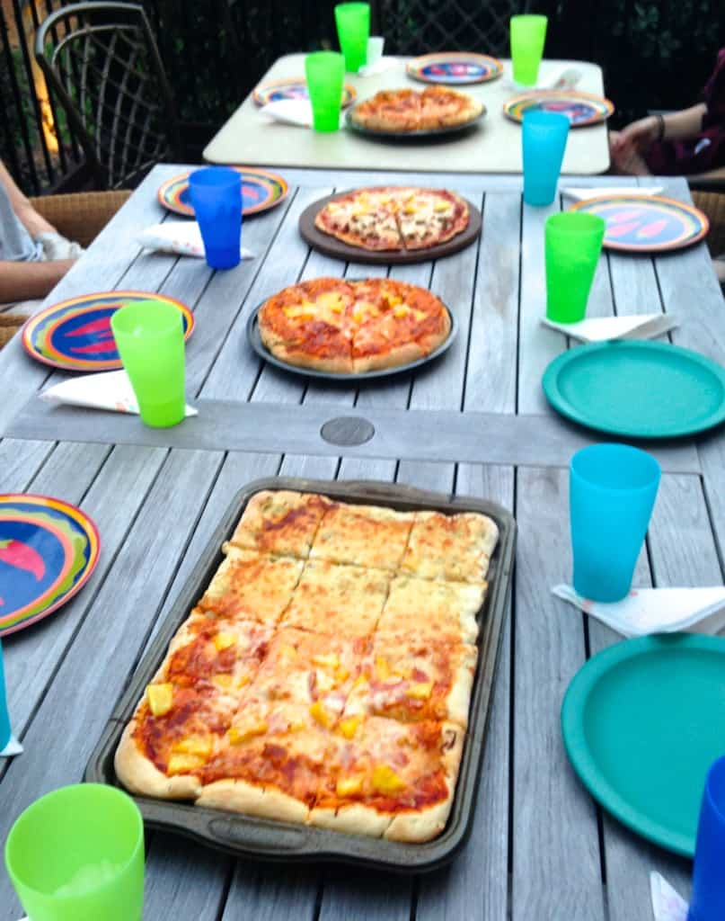 friends pizza night