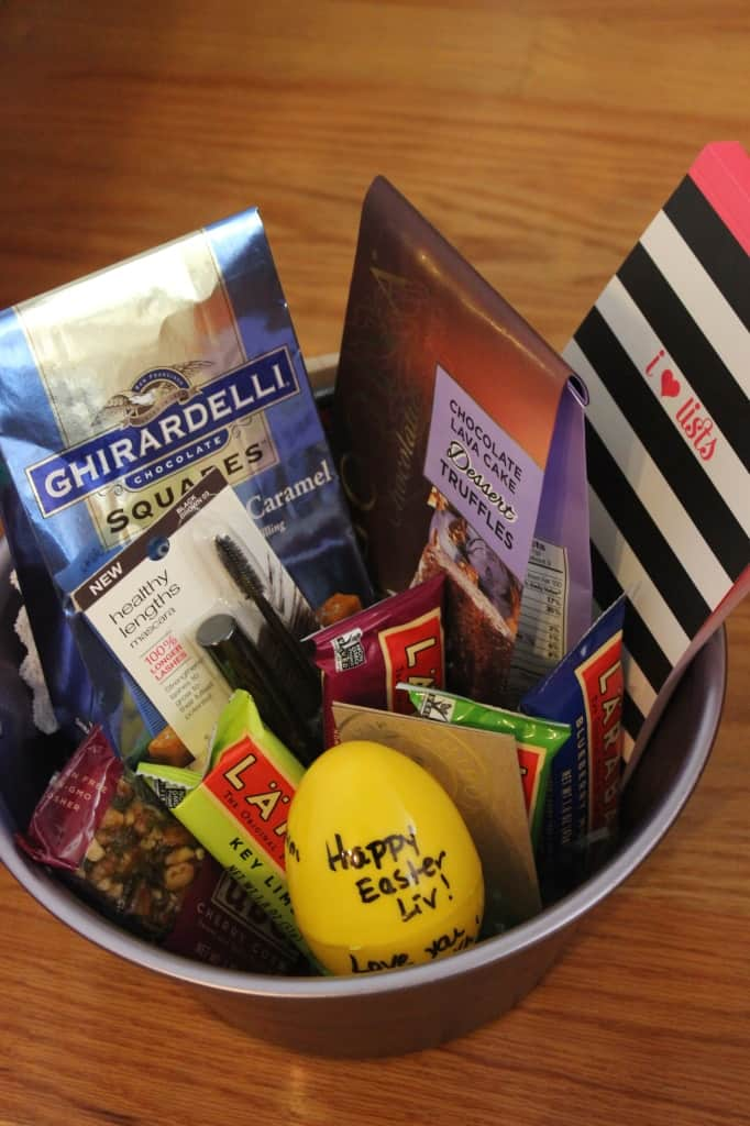healthy easter basket