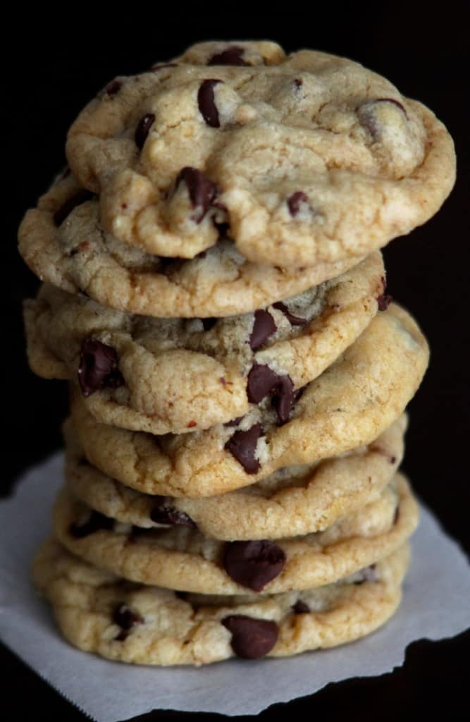 Best SOFT chocolate chip cookies I've ever had and no mixer needed!