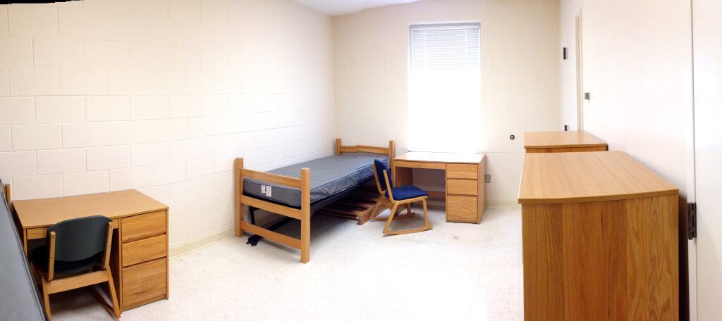move out day dorm room