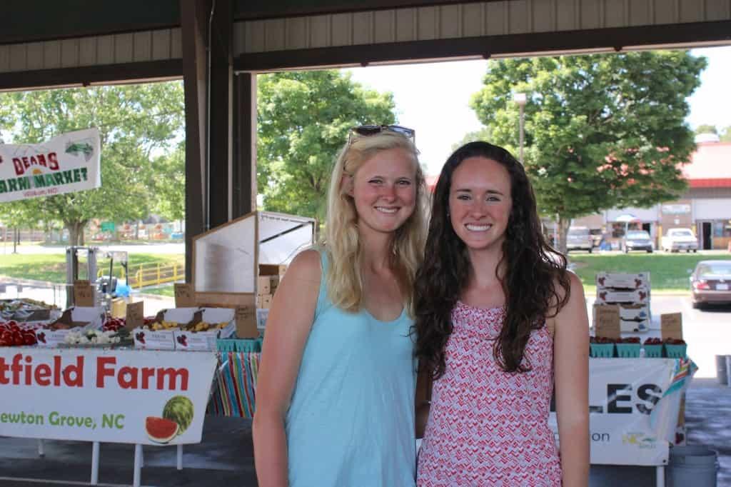 farmer's market friends