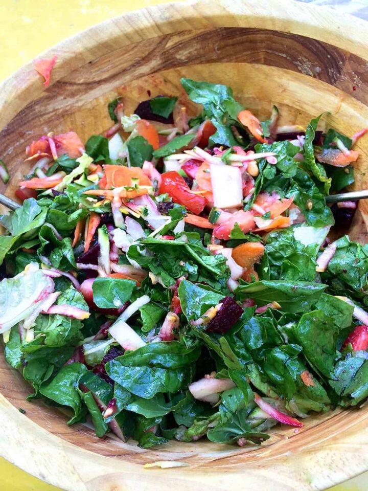 riley's fancy salad