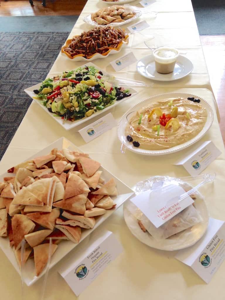 mediterranean deli feast