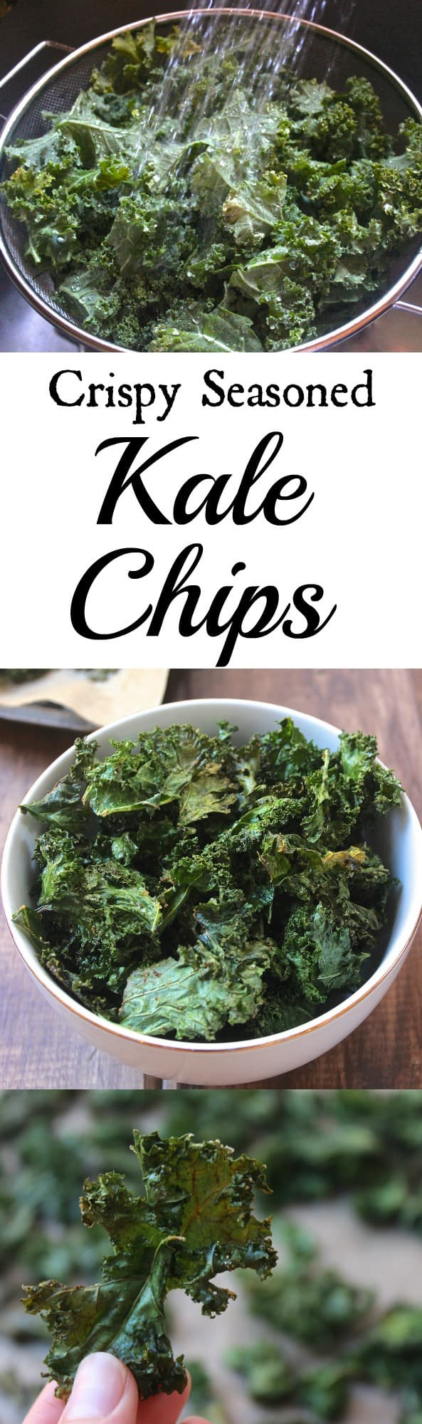 4 tips for perfectly crispy kale chips!