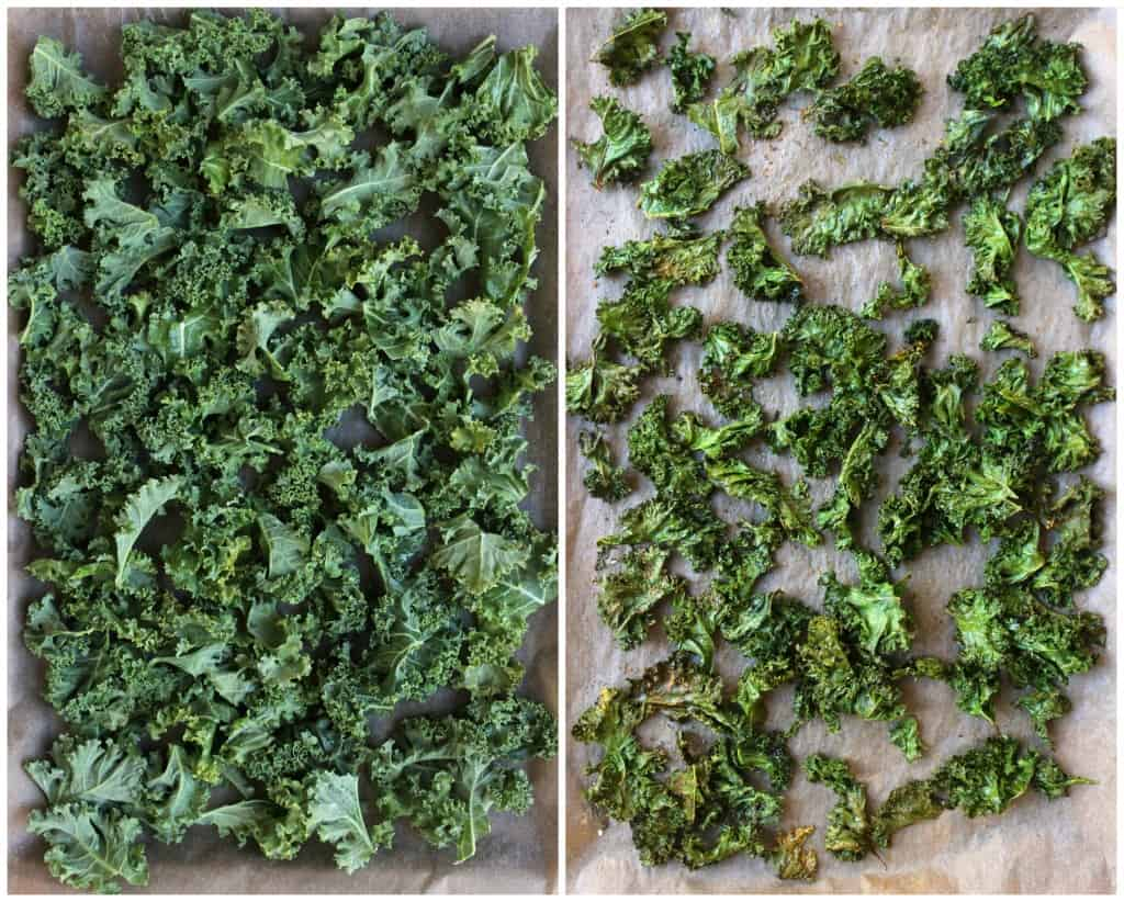 Tips for perfectly crispy kale chips!