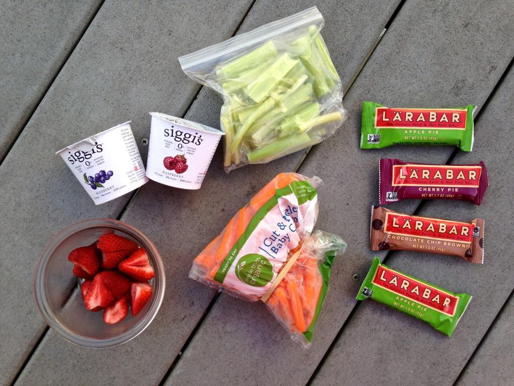 healthy beach snacks