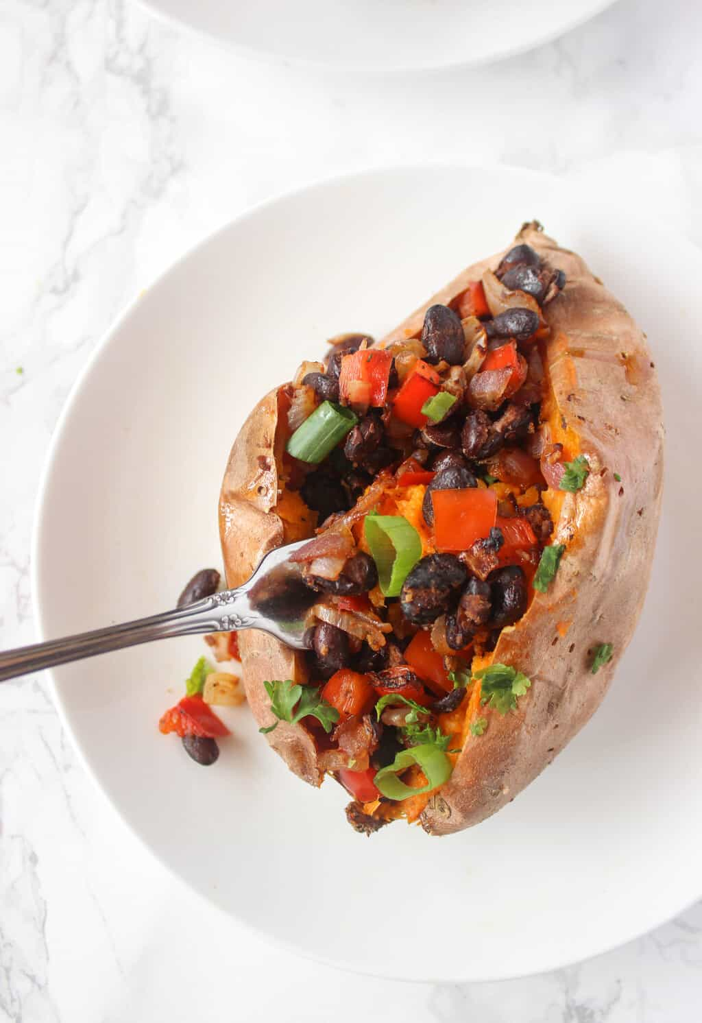 10 simple, healthy Mexican recipes that are DELICIOUS like these Mexican Stuffed Sweet Potatoes