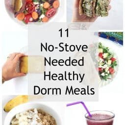 11 Simple Dorm Room Meals (No Kitchen Needed)