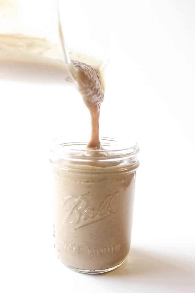 This healthy chocolate peanut butter smoothie tastes like a milkshake!