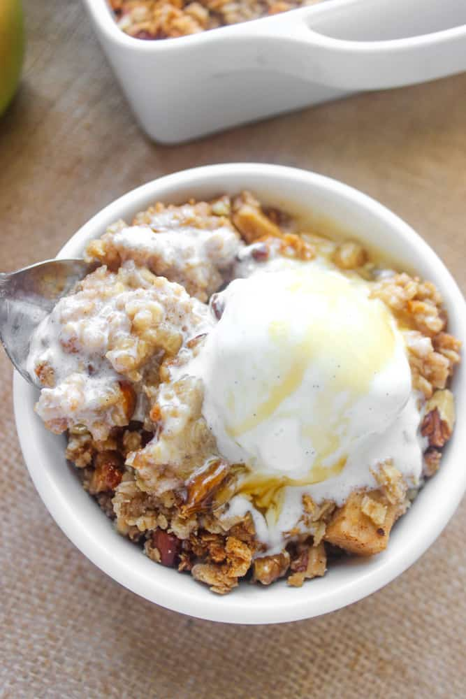 Best,Ever Healthy Apple Crisp
