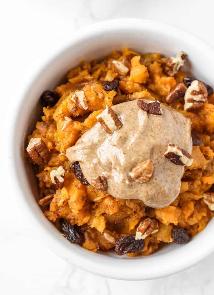 sweet potato breakfast bowl healthy liv