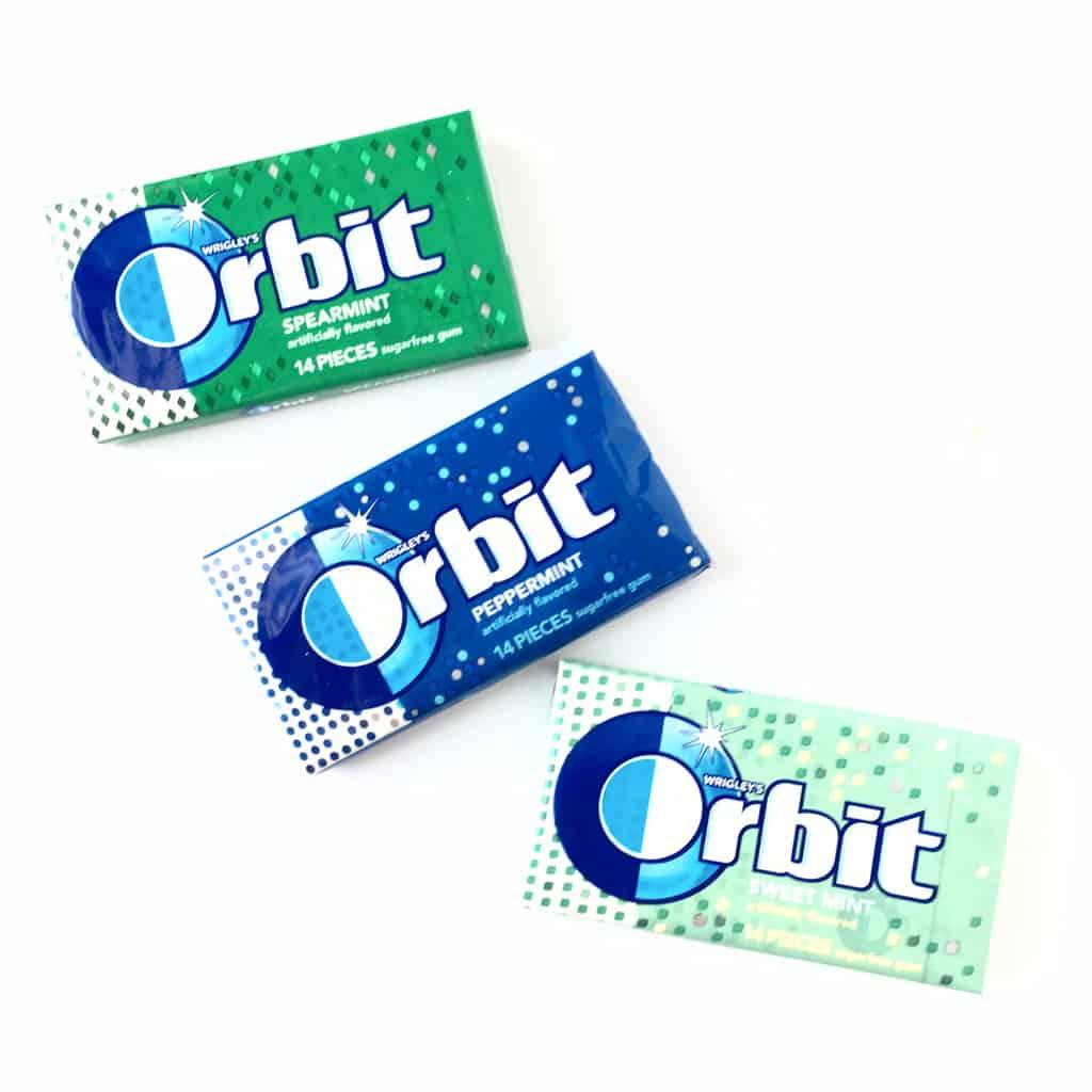 orbit gum healthy snacking