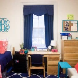 Maximizing a Small Living Space + Senior Year Dorm Room Tour