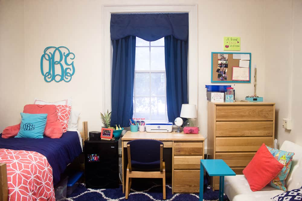 Maximizing A Small Living Space Senior Year Dorm Room Tour