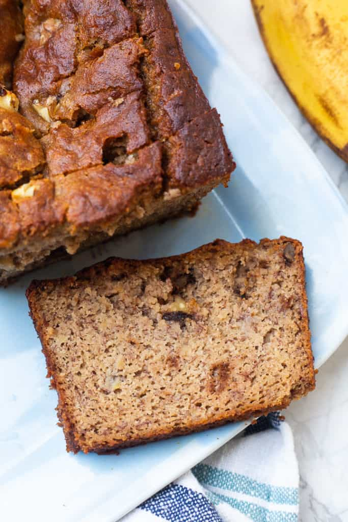 Mom S Almond Flour Banana Bread Healthy Liv