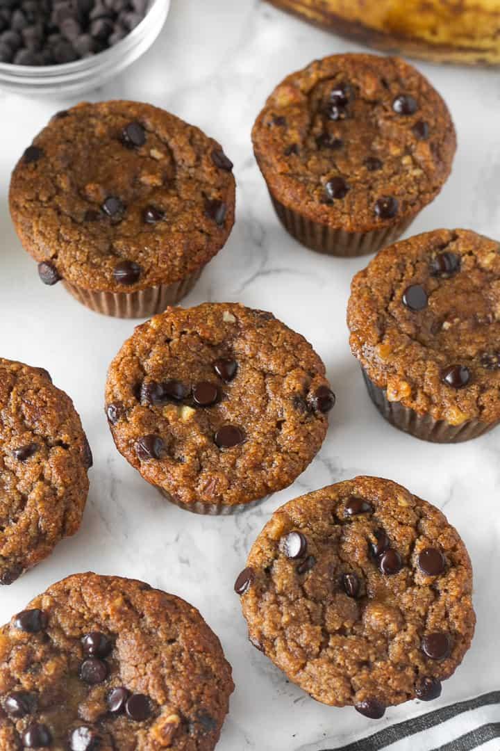 Almond Flour Banana Muffins Healthy Liv