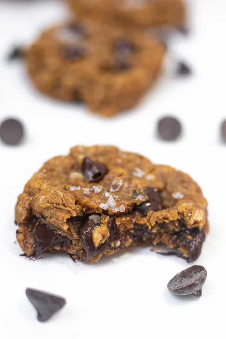 healthy oatmeal peanut butter cookies